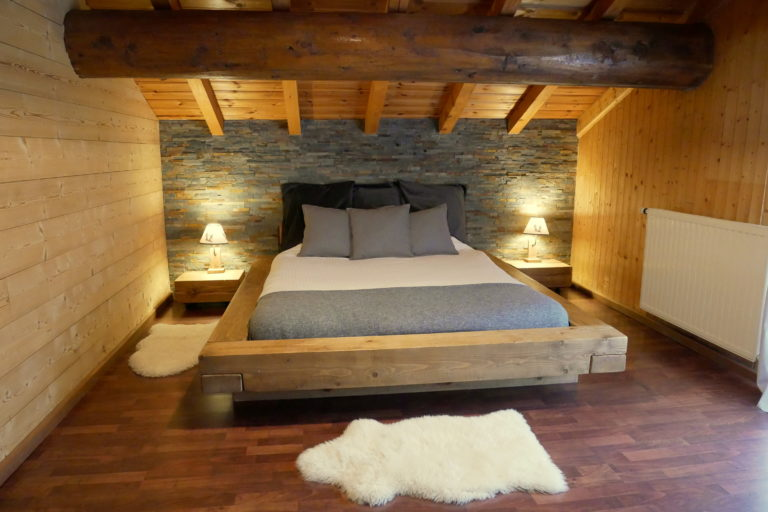 Bedroom 1 Chalet Alistelle