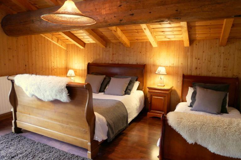 Bedroom 2 Chalet Alistelle
