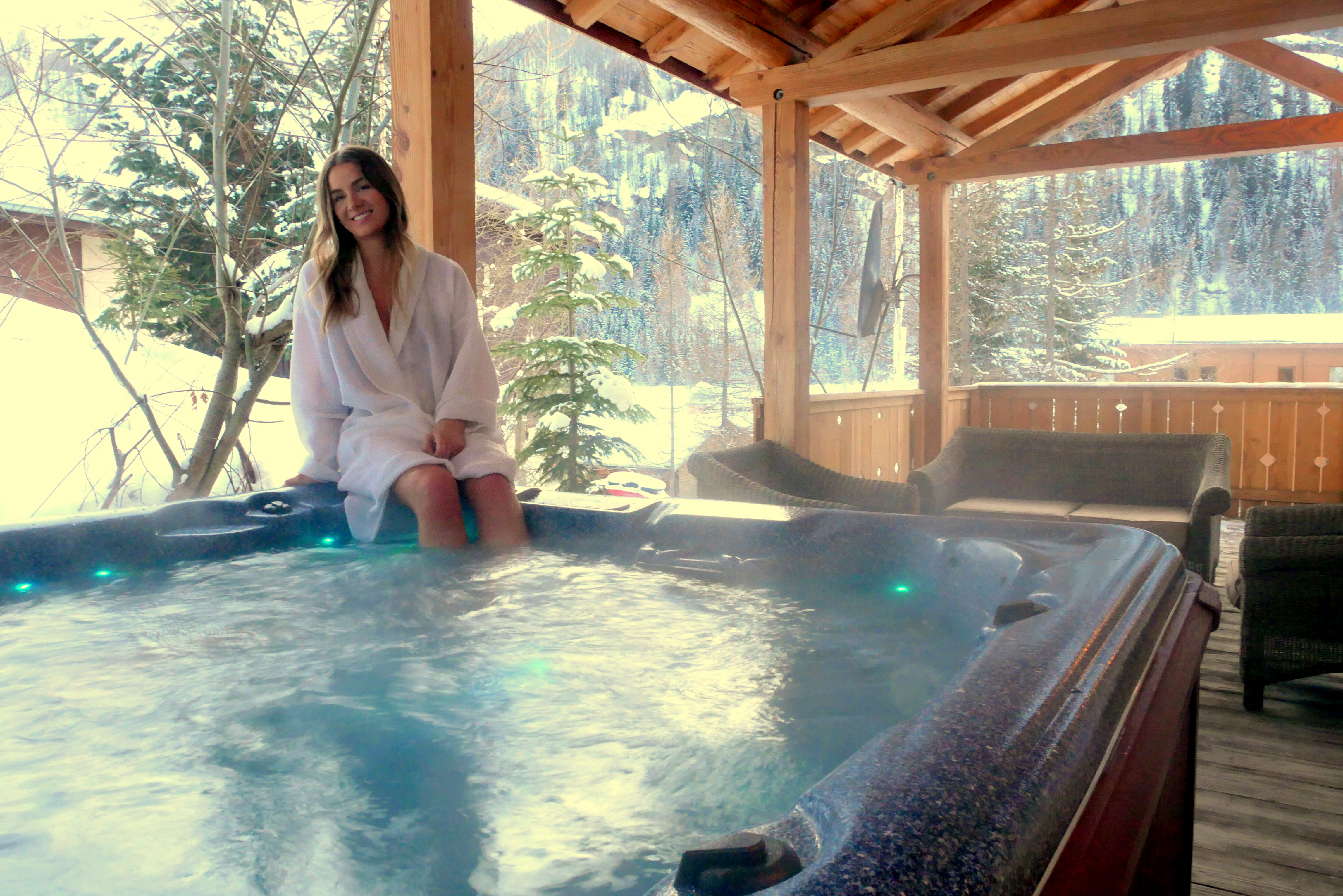 Chalet Arabette Hot Tub Spa