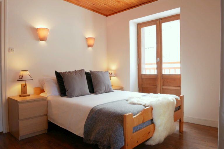 Chalet Le Loup Bedroom 1