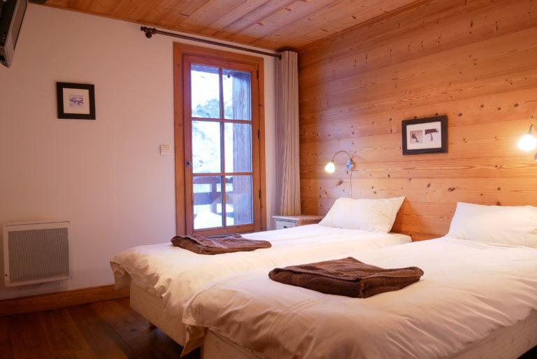 Chalet Le Vallon Bedroom 1
