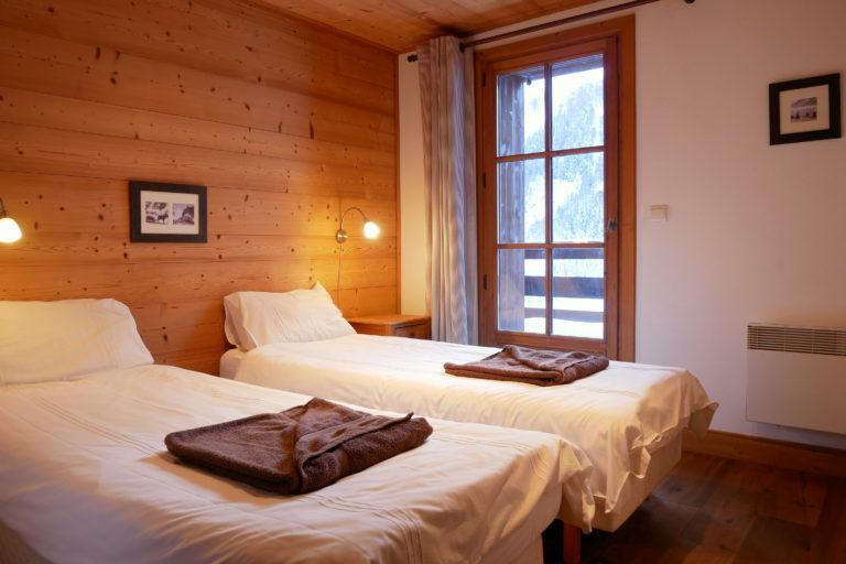Chalet Le Vallon Bedroom 2