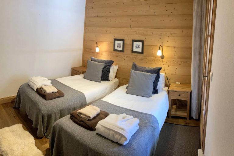 Chalet Le Vallon bedroom 3