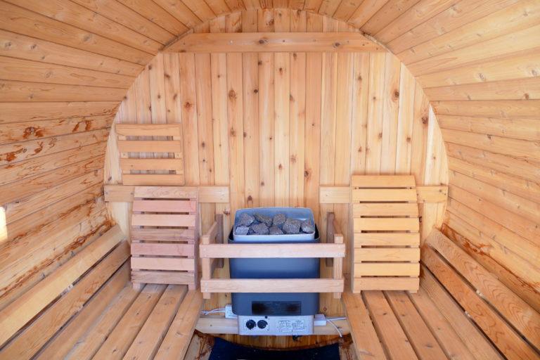 Chalet Sundance Sauna interior