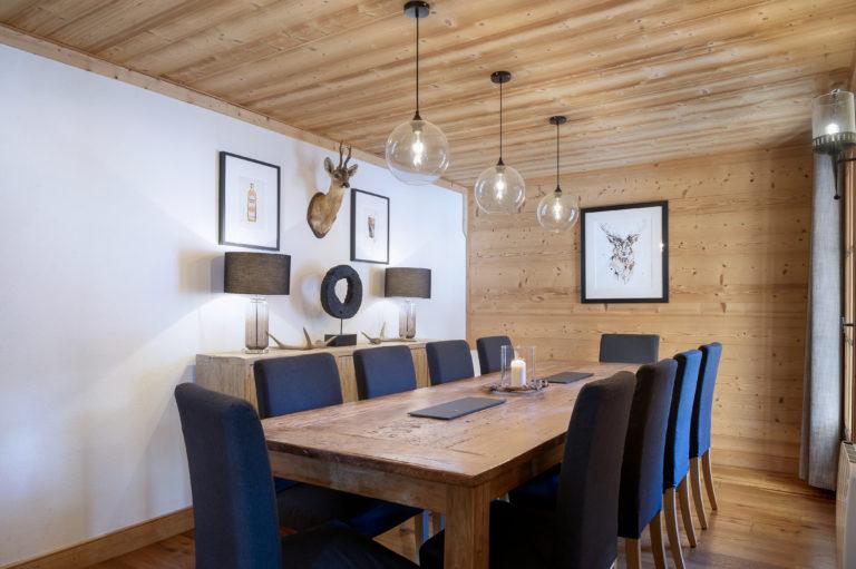 Chalet Sundance Tignes Dining Room