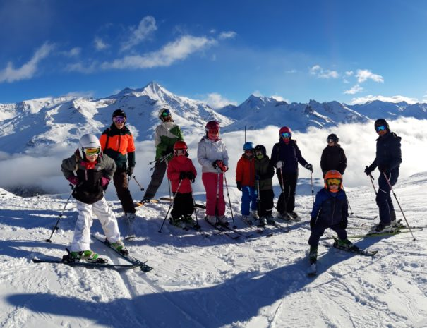 Happy New Year from White Horizons in Tignes