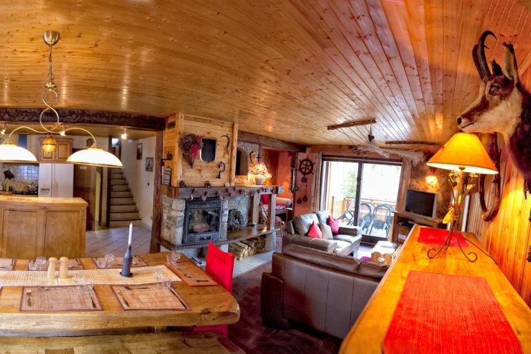 Chalet Alistelle Tignes Living Area