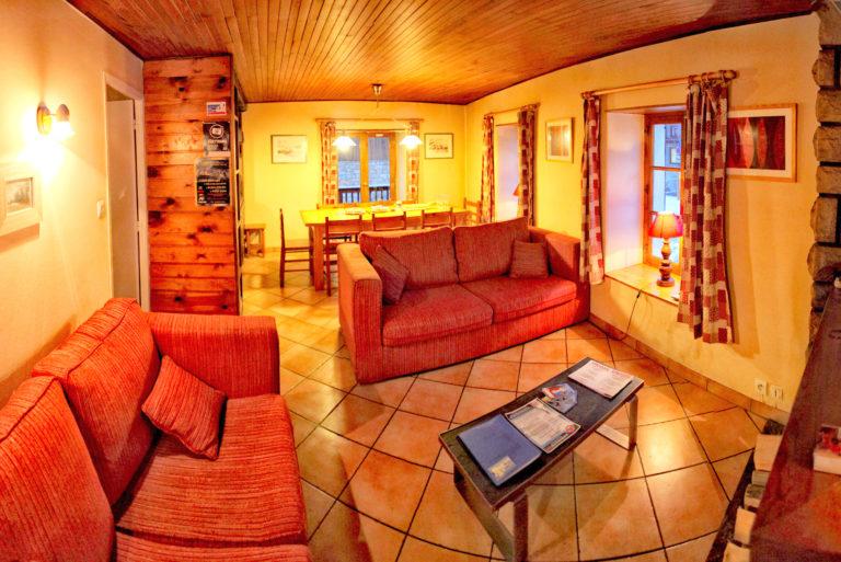 Chalet Le Loup Tignes Lounge
