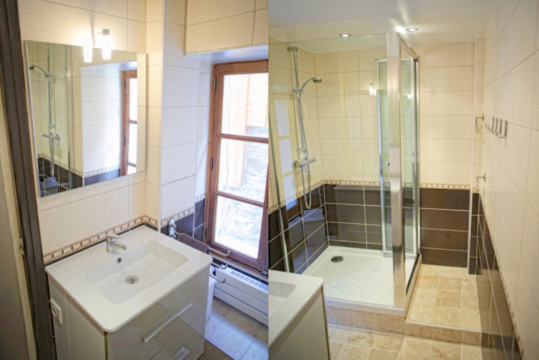 Chalet Le Loup Tignes Shower Room 1