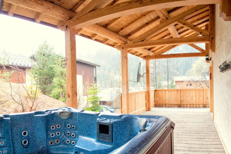Chalet Arabette Tignes Terrace & Hot Tub