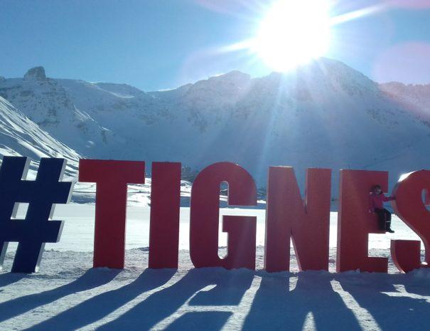 #Tignes