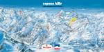 L'Espace Killy Ski Area Map